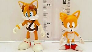 Sonic-the-Hedgehog-Mini-Figurines-Classic-Collector-039-s-Set-Lot-of-2