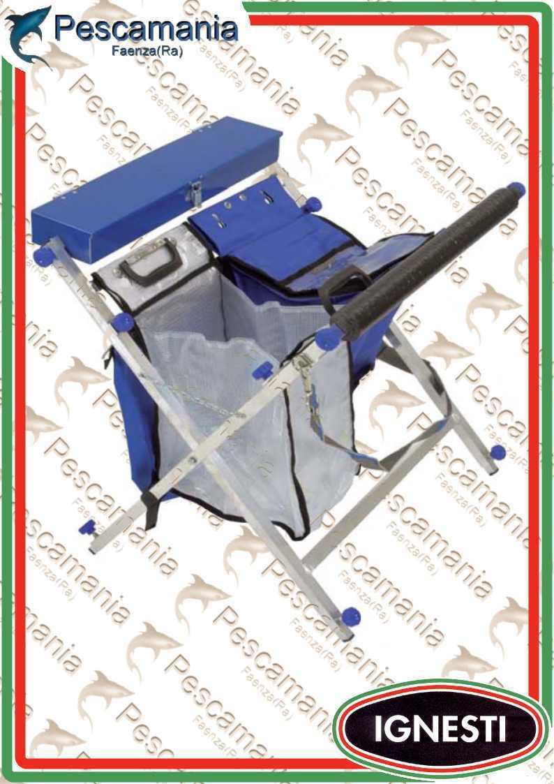 Cavalletto Ignesti portatrote professional (sarfix) porta trote