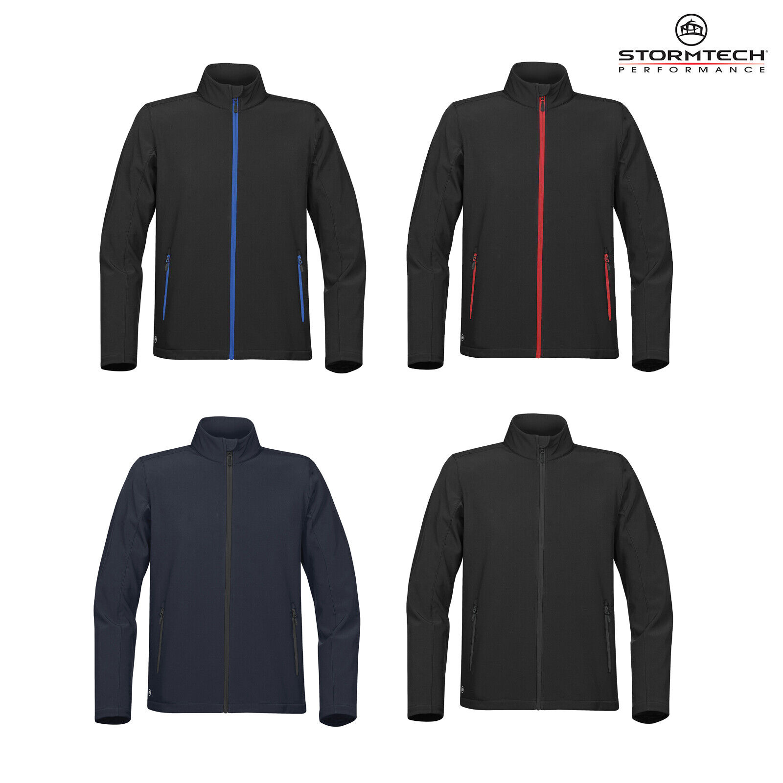 STORMTECH Adulti Orbiter Giacca Softshell KSB1  Impermeabile Unisex Casual in Pile