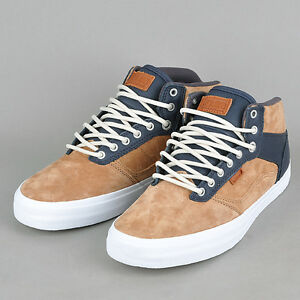 7613a07c76 NEW VANS OTW COLLECTION BEDFORD CHIPMUNK IRON SHOES MENS SZ 6.5 SK8 ...