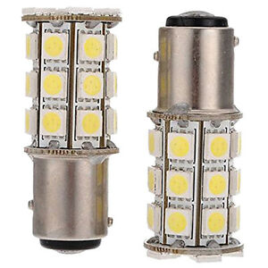 2x-1157-T25-BAY15D-P21-5W-27-SMD5050-12V-LED-feux-de-freinage-Blanc-Lumiere-WT