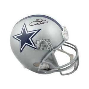 b58d7bee1 Image is loading Emmitt-Smith-Autographed-Dallas-Cowboys-Full-Size-Football-