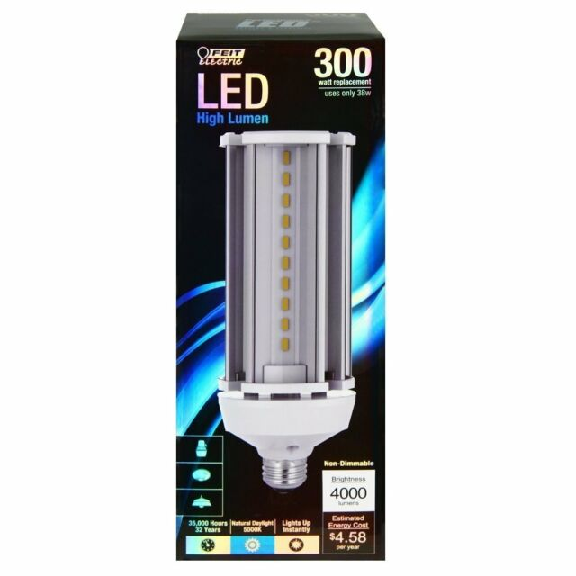 Feit 73995 300W Replacement 5000K Non-Dimmable LED Yard Light