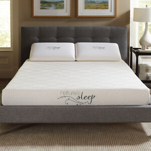 Nature S Sleep 8 Quot Gel Memory Foam Mattress Ebay