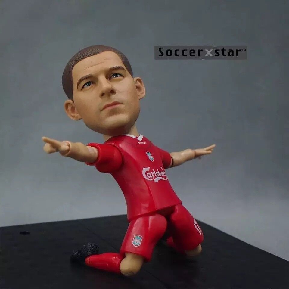 Classic Football Soccer Club Star Figure Toy Doll -Liverpool- Owen,Gerrard