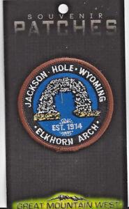 Jackson Hole Wyoming Souvenir Patch