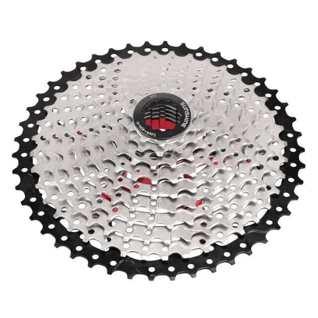 MTB Bicycle Flywheel Bike Cassette Cycling Freewheels 10 Speed 11-46T//11-50T NEW