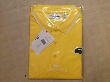 NWT- LACOSTE SPORT MEN'S MIAMI OPEN ULTRA DRY POLO SHIRT - Size  4(Medium)