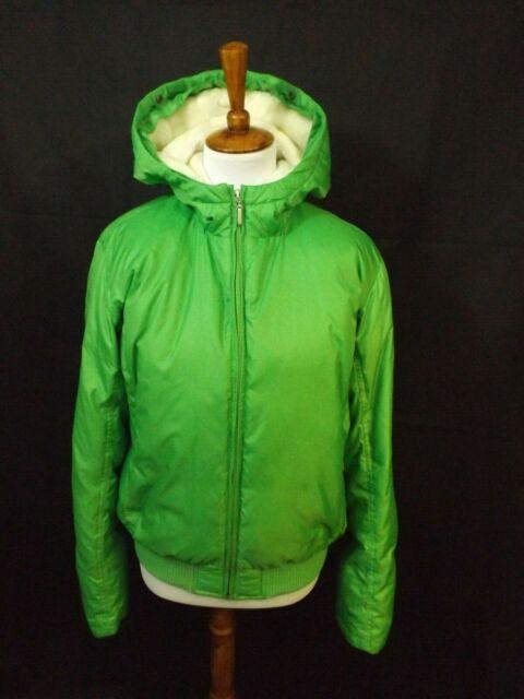 Vintage RALPH LAUREN POLO JEANS CO Green Quilted Zip ...