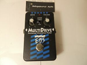 EBS MultiDrive Universal Overdrive Multi Drive Effects Pedal Free USA Shipping