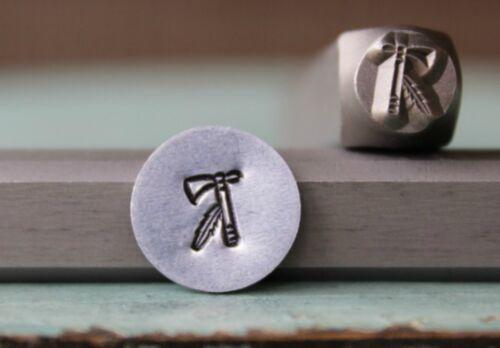 SUPPLY GUY 6mm Tomahawk Metal Punch Design Stamp SGCH-128