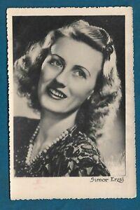 Erzsi Simor, Hungarian film actressm, vintage photo 1944 ...