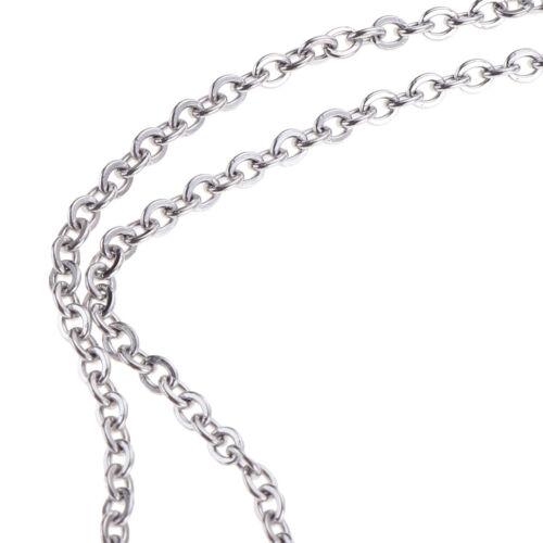 Edelstahl 2mm Ring Kabel Kette 13yd Jewelry Making Supplies Ergebnisse