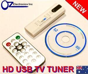 USB HDTV TV tuner for Windows 10 Australia DVB-T PC Record digital