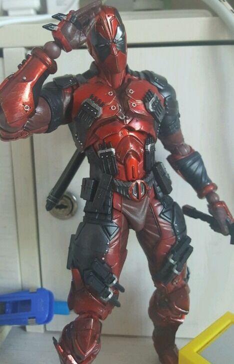 11  Square Enix Play Arts Kai Marvel Marvel Marvel DEADPOOL Action Figure no box e9c939
