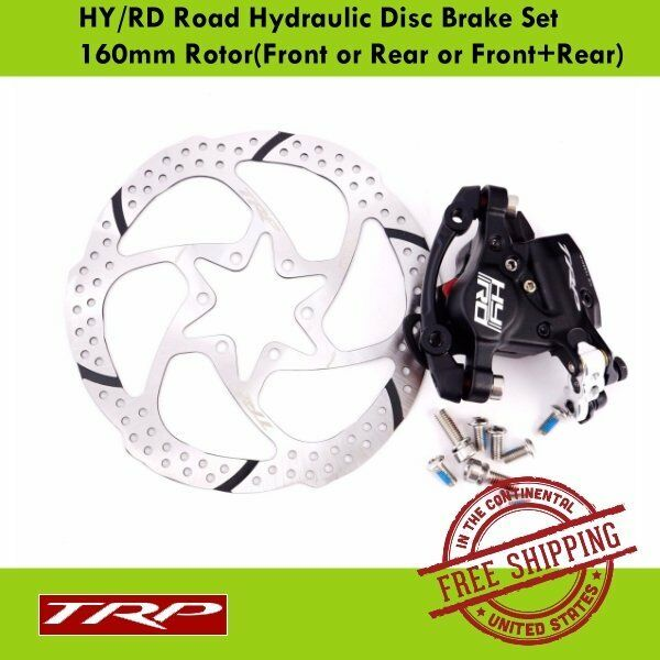 TRP HY RD Road Hydraulic Disc Brake160mm w Caliper redor (Front or Rear or Set)