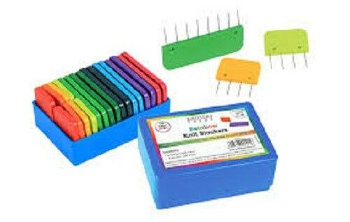 GREAT BLOCKING PINS FOR YOUR KNITS! Knitters Pride RAINBOW Knit Blockers 800417