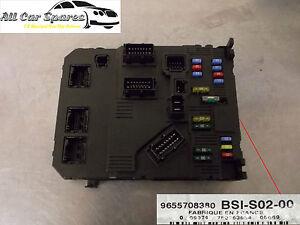 peugeot 407 fusebox bsi bsm 9655708380 ebay rh ebay ie
