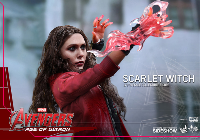 MARVEL HOT TOYS AGE OF ULTRON - SCARLET WITCH 1:6 SCALE ACTION FIGURE HOTMMS301