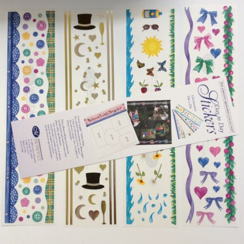 Grass Buttons NEW Creative Memories DAY TO DAY STICKER PACK Stars Moon Waves