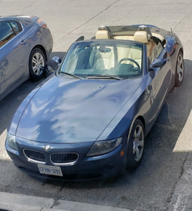 2005 BMW Z4 $15500 looking for a Jeep Wrangler would trade