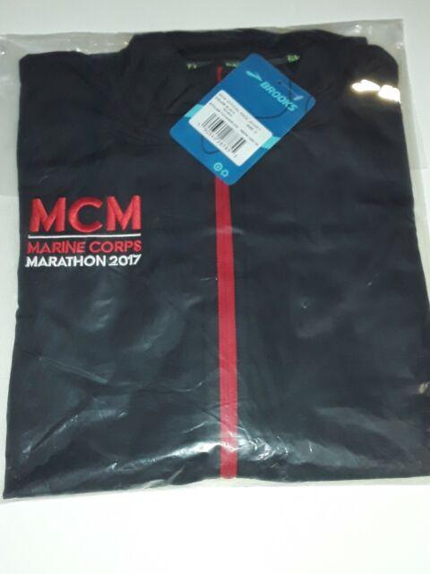 USMC Marine Corps Marathon 2014 Brooks Jacket Men/'s Size S Running Jacket