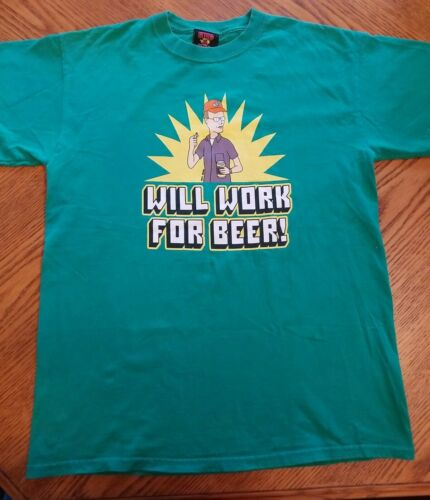Vintage king of the hill shirt size M