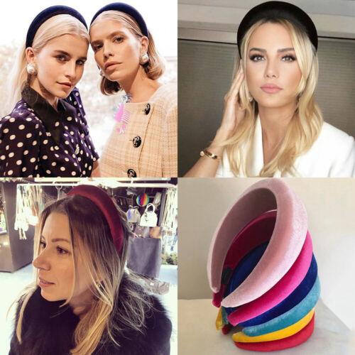 Thick Velvet Hair Accessories Head Hoop Sponge Hairband Headwear Girls Headband