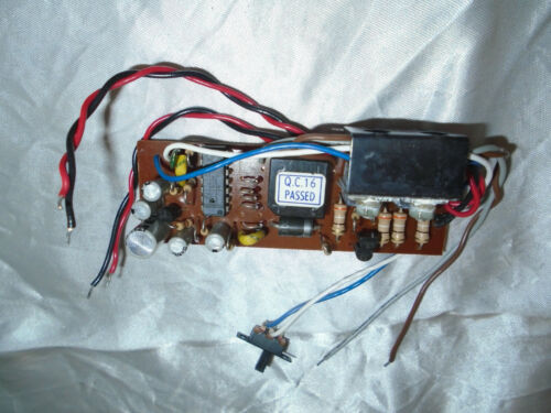 Tested Lionel LTI Dual DC Can Motor Electronic E Unit..
