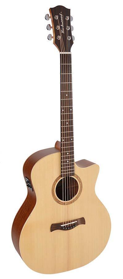 Richwood MASTER handmade Songwriter M guitar SWG 110 massiv Fichtendecke Mah. BZ