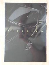 PONTIAC FIREBIRD 1998 French Mkt Glossy Sales Brochure - Trans Am