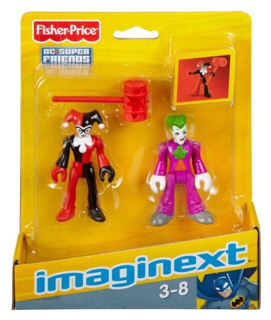 Fisher Price Imaginext DC Superheroes - The Joker & Harley Quinn - Brand New
