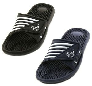 Men-039-s-Massage-Sandals-Flip-Flops-Adjust-Strap-Slide-Sport-Slip-on-Slippers-Sizes