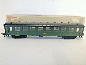 Fleischmann-5026-Green-2nd-Class-Compartment-Coach-Carriage-of-the-DRG
