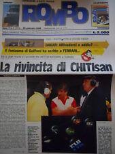 ROMBO 4 1988 n°2 riviste - Top Poster Paris Dakar Juka Kankkunen