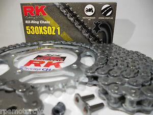1997-2007 Honda CBR1100XX Blackbird O-Ring Chain and Sprocket Kit Nickel