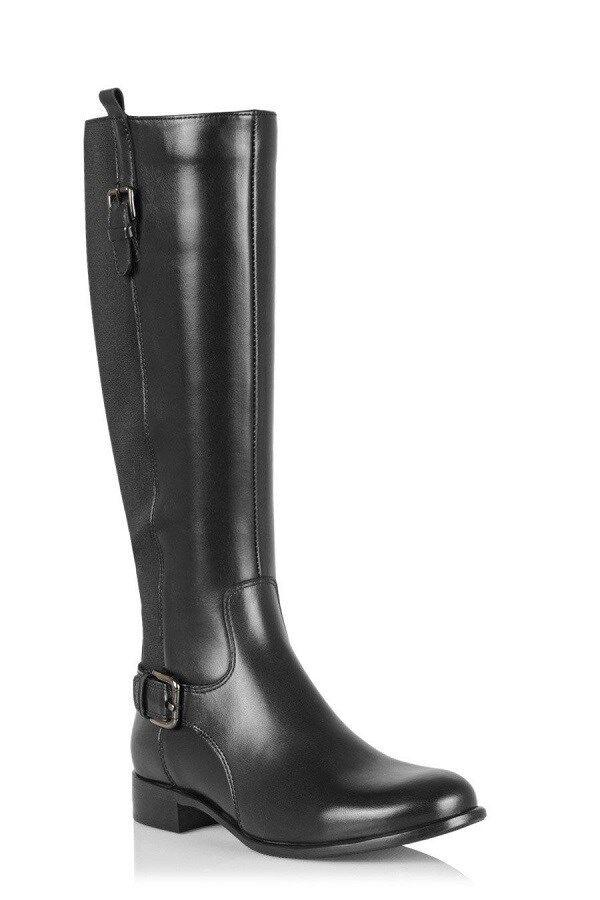 LA CANADIENNE Stefania Black Waterprof Knee High Boots Womens 6 NEW IN BOX
