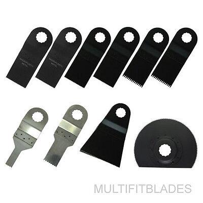 "3 x 3//8"" Stainless Oscillating Tool Blades Ryobi Job Plus Compatible"