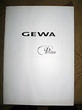 GEWA Digital Piano catalog