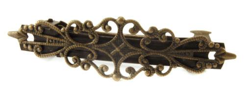 NEU-Vintage  Haarklammer-Haarspangen-Bronzefarben Blume-Headwear