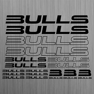 BULLS-aufkleber-sticker-fahrrad-bike-mtb-bmx-road-decal-17-Stucke-Piecess