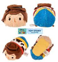 Disney Authentic Tsum Tsum Plush Mini 3 1/2 Toy Story Woody (new) U.s. Seller