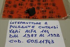 ALFA ROMEO 164 INTERRUTTORE PLANCIA COMANDI VARI COD. 60511743