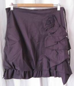 Euc Cop Polyamide Copine Jupe 180176 Stretch Skirt Cotton Women's Jeny Ruffle 40 qUgEEw7P
