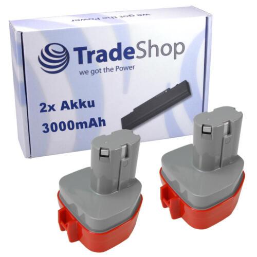 2x Batterie pour Makita 1922714 1924075 6322686 1925364 1925372 1922934 3000mah
