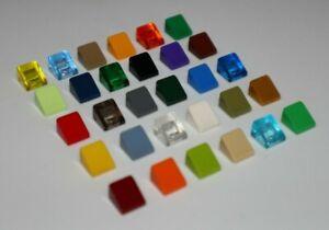 4X Lego® 30565 Platte Plate 4X4 Viertelkreis Runde Ecke Round Corner Grün Green
