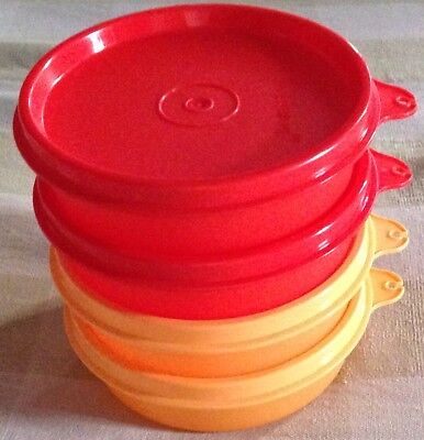 Tupperware Executive Small Bowl Set of 4-In 2 colors-New