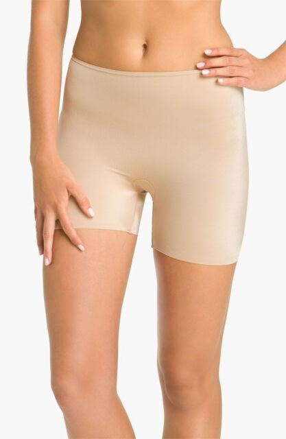 e813b7b92 Spanx Slimplicity Girl Short Body Shaper NUDE size Large NEW style # 393