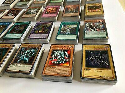 random lot of cards 50 Assorted YuGiOh Cards with Rares /& Super Rare