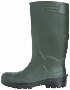 Vital VW254 S5 Mens Groundworker Yellow Steel Toe Cap Safety Wellington Boots